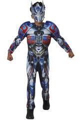 Déguisement Enfant Optimus Prime TF5 Deluxe T-M Rubies 630997-M
