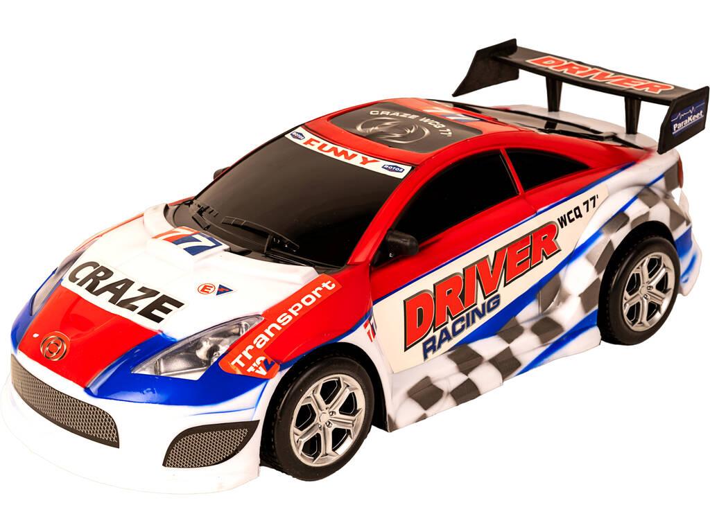 Carro Fricção Super Corrida 47 cm. Vermelho Funny 77