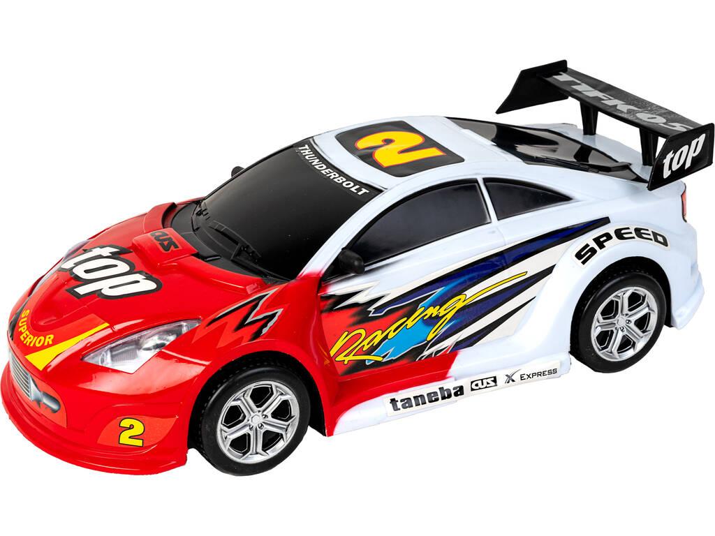 Vehículo Fricción Súper Racing 47 cm. Rojo Thunderbolt 2