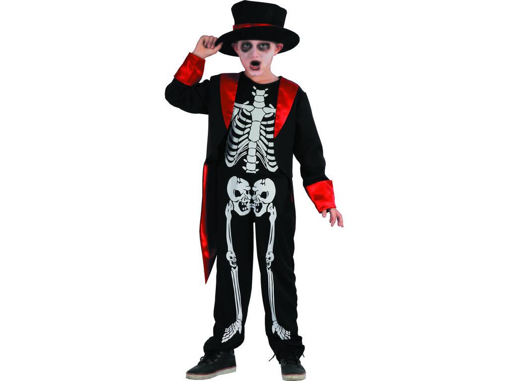 Disfraz Niños M Esqueleto
