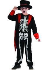 Disfraz Niños L Esqueleto