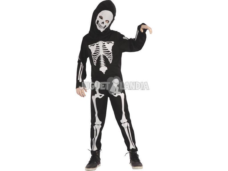 Disfarce Menino XL Esqueleto