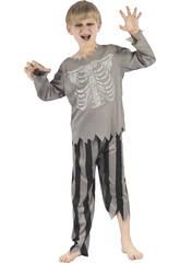 imagen Disfraz Niños M Pirata Esqueleto
