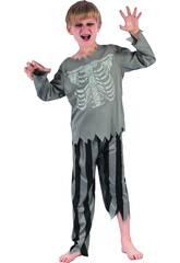 imagen Disfraz Niños XL Pirata Esqueleto