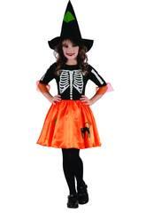 imagen Disfraz Niños XL Bruja Esqueleto