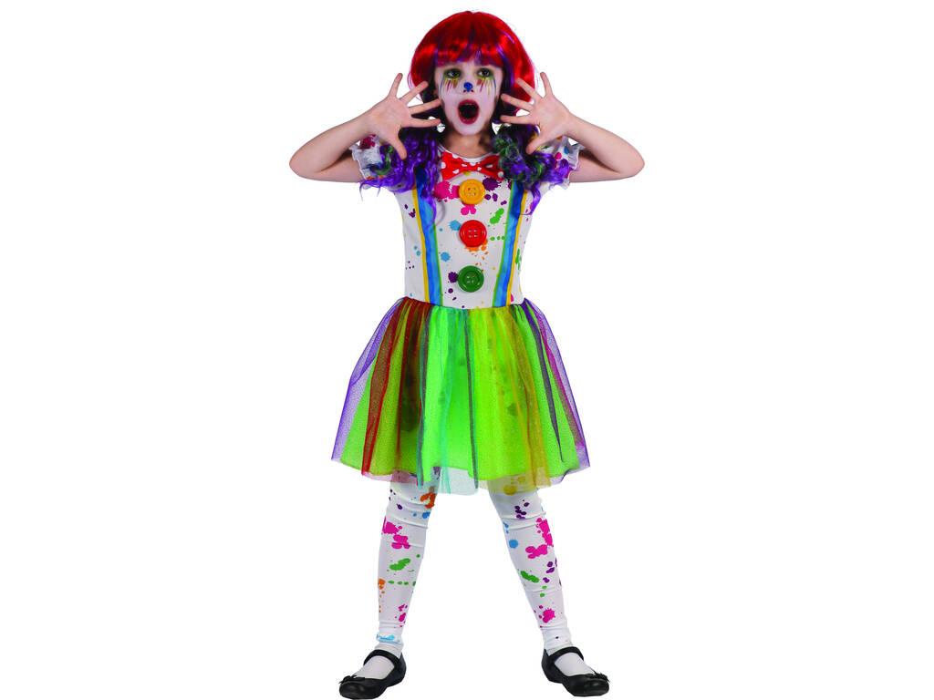 Disfraz Niños M Payasa Sangrienta