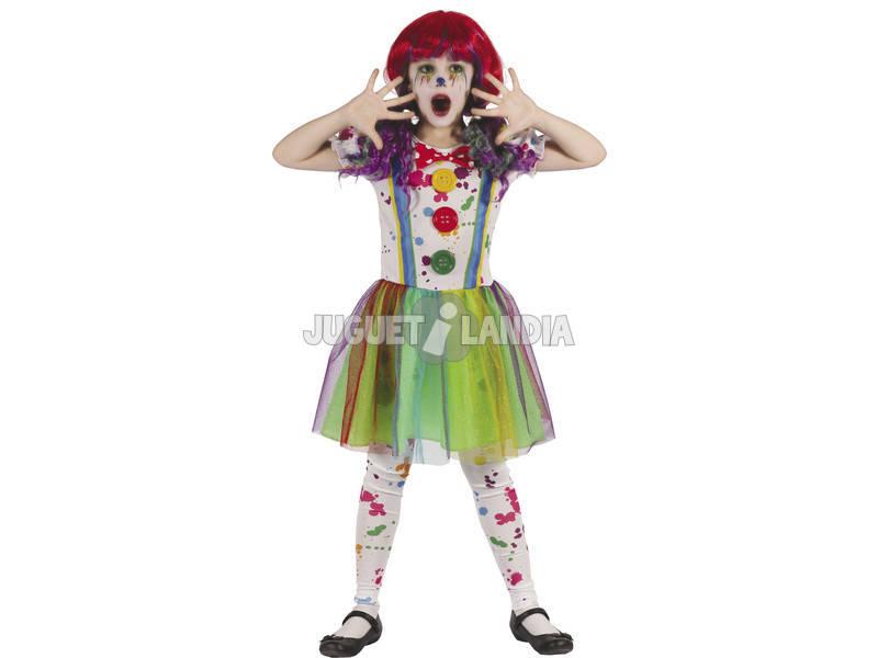 Disfraz Niños XL Payasa Sangrienta