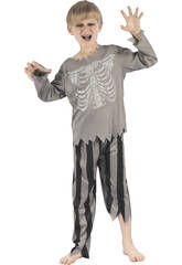 Disfraz Babys M Pirata Esqueleto
