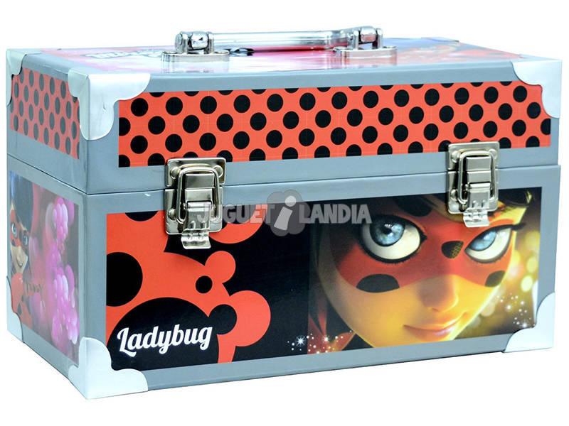 Mala De Manualidades Ladybug Com Acessórios 15.5x26x14 cm Cife 41173