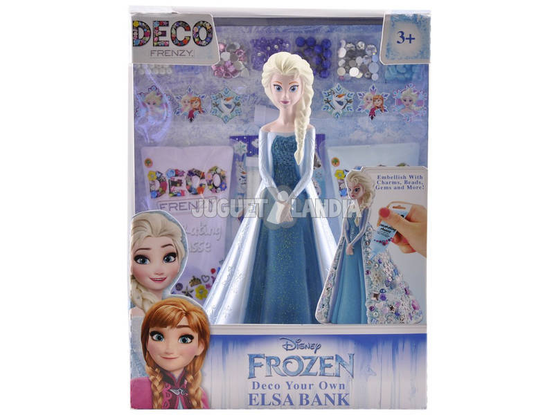 Frozen Mealheiro Elsa Princesas Disney Deco Frenzy Cife 41167