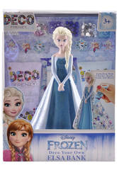 Frozen Salvadanaio Elsa Principesse Disney Deco Frenzy Cife 41167