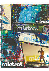 Cahier A4 120 Pages Mistral Billow Perona 53681