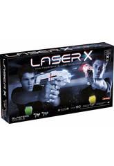 Pistola Laser X Doble Glop Games 98139