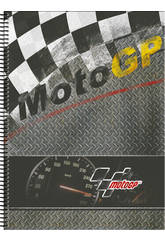 Block A4 120 Hojas Microperforado Moto GP Warm Perona 54222
