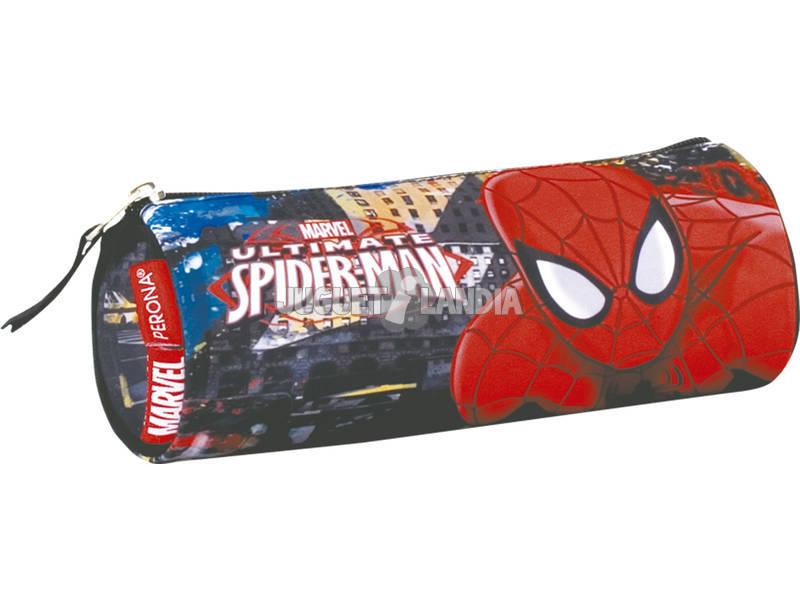 Estojo Tubo Spiderman Town Perona 54299