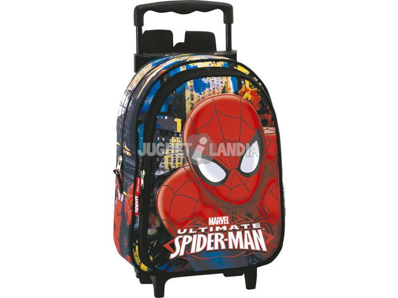 Trólei Infantil Spiderman Town Perona 54301