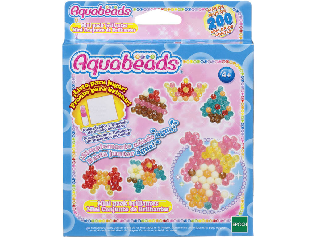 Aquabeads Mini Pack Brillantes Epoch Para Imaginar 32759