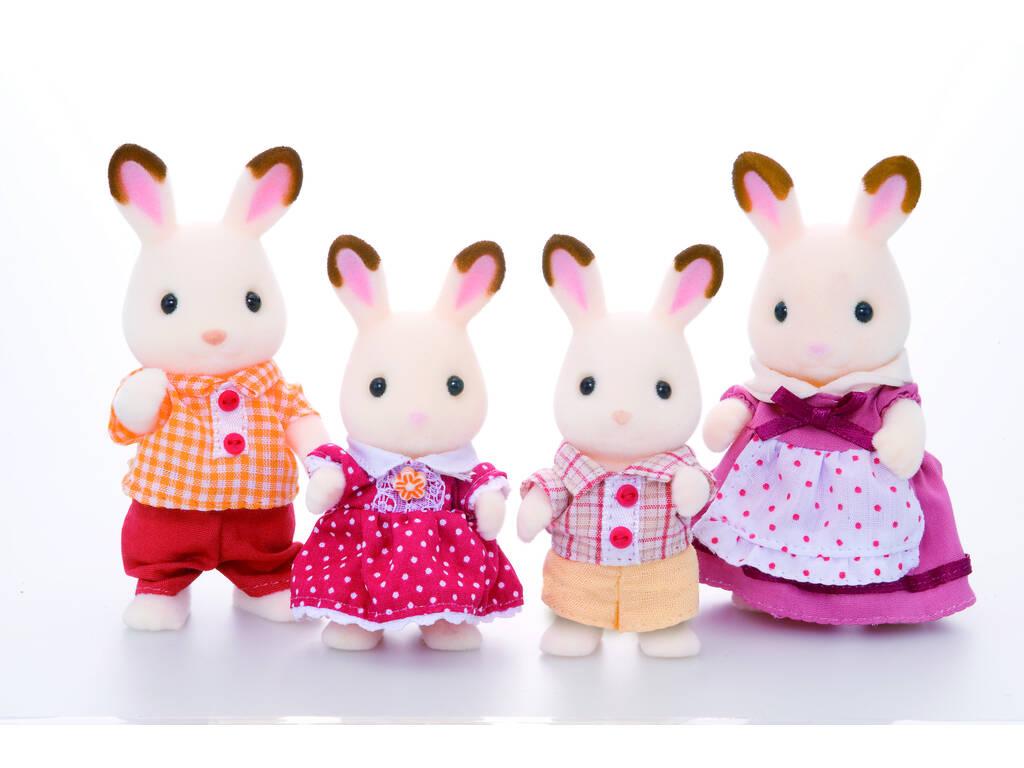 Sylvanian Families Familia Conejos Chocolate Epoch Para Imaginar 4150