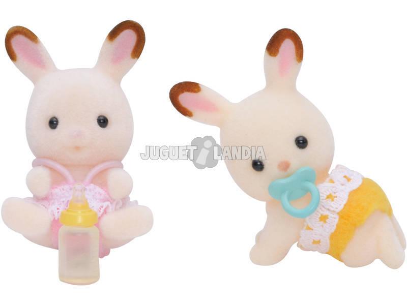 Sylvanian Families Cuccioli Gemelli di Conigli Cioccolato Epoch 5080