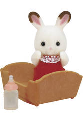 imagen Sylvanian Families Bebé Conejo Chocolate Epoch Para Imaginar 5062