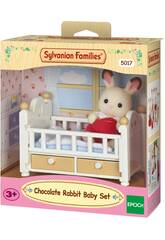 Sylvanian Families Conejo Chocolate Set Bebé Epoch Para Imaginar 5017