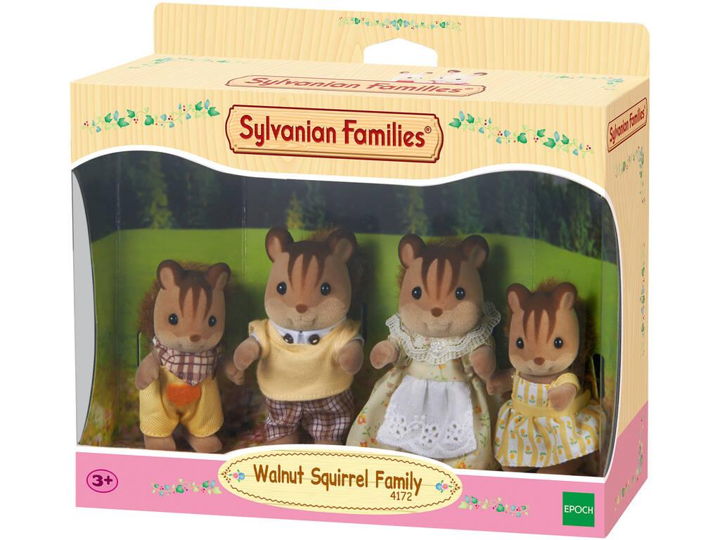 Sylvanian Families Familia Ardillas de la Nuez Epoch Para Imaginar 4172