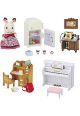 Sylvanian Families Set Grundlegende Möbel Haus Feld Epoch Imagine 5220