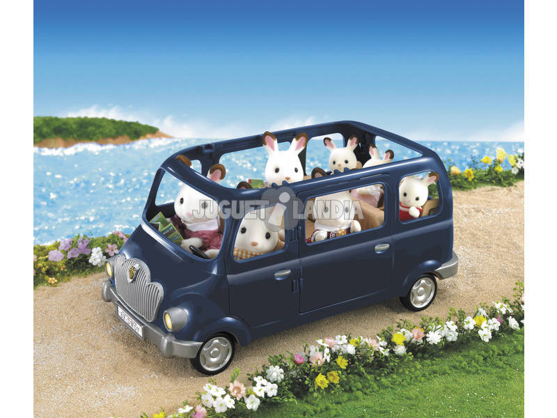 acheter voiture familiale 7 places sylvanian families 5274 juguetilandia. Black Bedroom Furniture Sets. Home Design Ideas