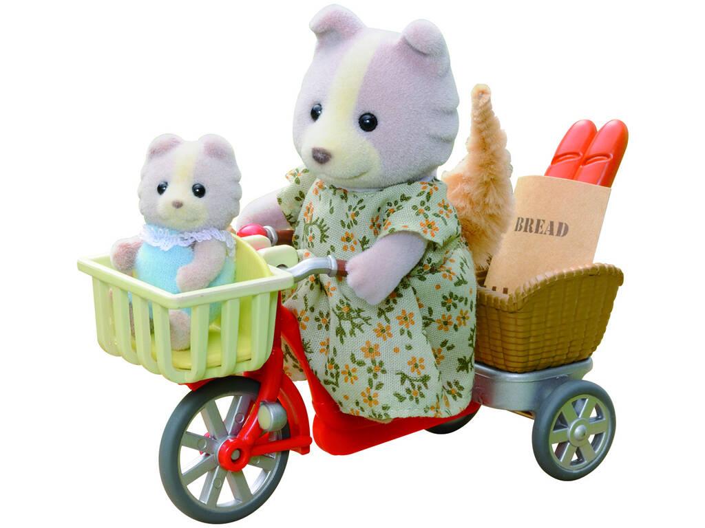 Sylvanian Families In bici con Mamma Epoch 4281
