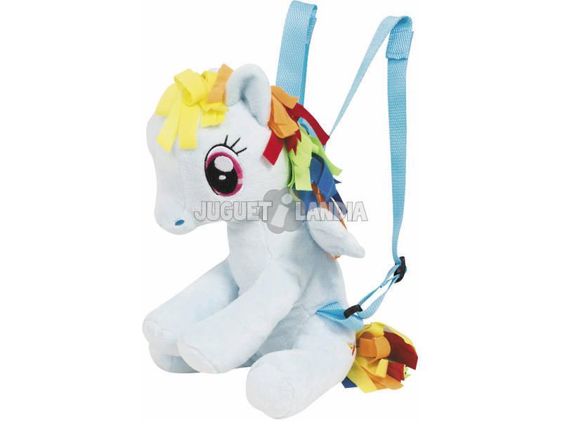 Surtido Mochila Peluche My Little Pony 32x20cm Famosa 760015620