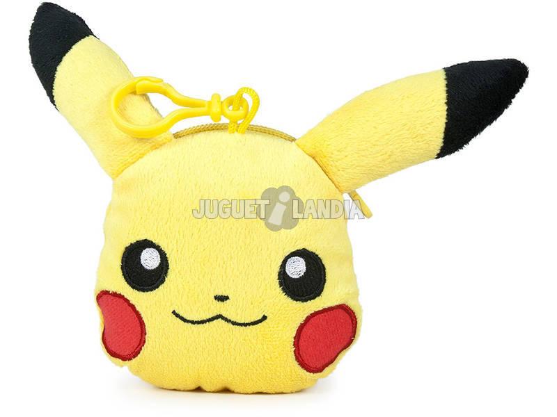 Monedero Colgante Pokemon Pikachu 15cm Famosa 760015202