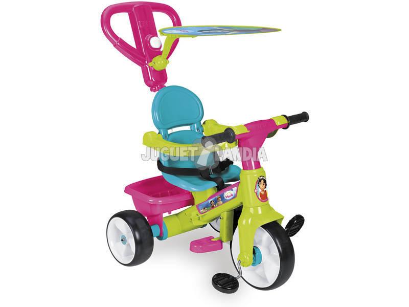 Heidi Triciclo Regulável Com Luzes, Sons e Música 1 - 3 anos Feber Famosa 700012542