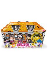 Figuras Pin y Pon Casita de Halloween Con Accesorios Famosa 70009685