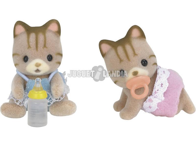 Sylvanian Families Epoch Listrado Cat Cufflinks para Imagine 5188