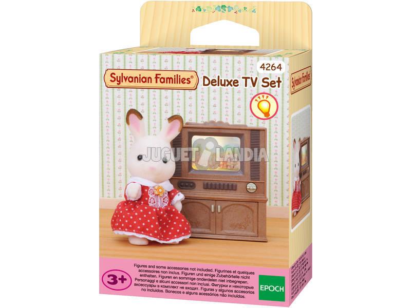 Sylvanian Families Televisor Color con Mueble Epoch Para Imaginar 4264