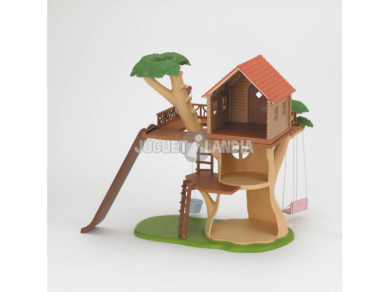 Família Sylvanian Tree House Epoch To Imagine 4618