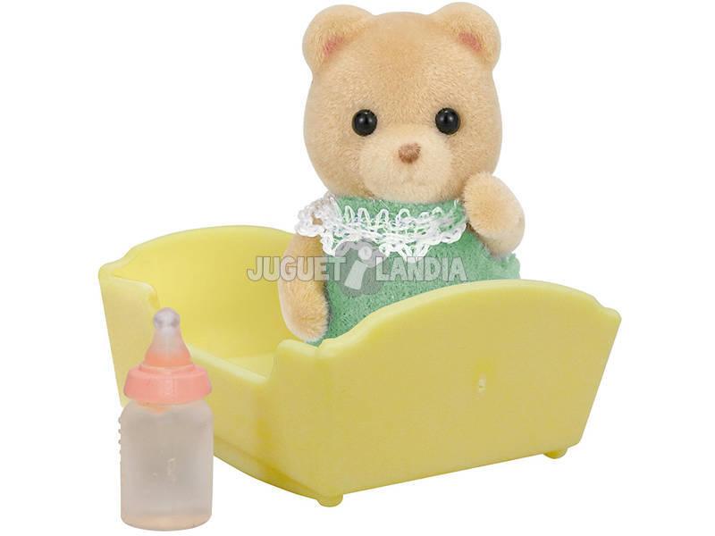 Famílias Sylvanian Baby Brown Bear Epoch para Imagine 5073