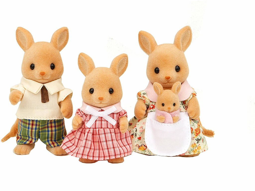 Sylvanian Famílias Family Kangaroos Epoch To Imagine 5272