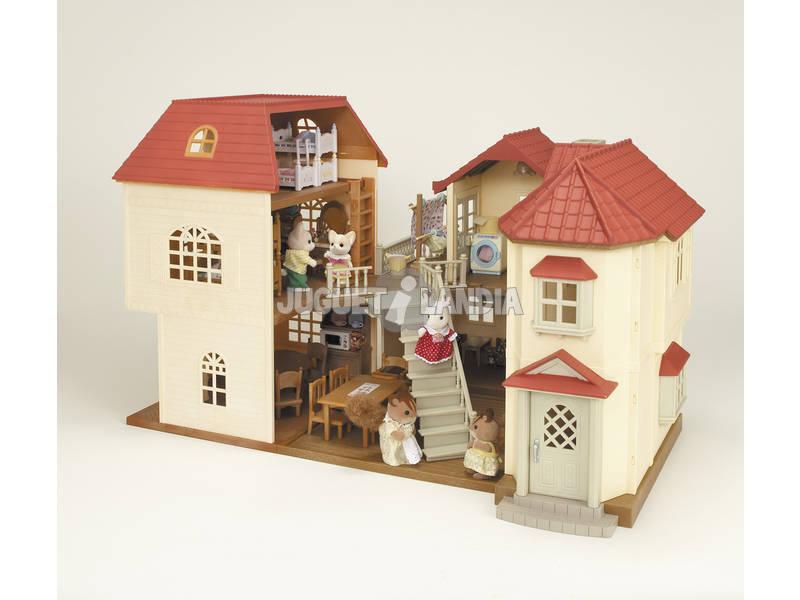 Sylvanian families casa de 3 plantas epoch para imaginar for Casa de tres plantas sylvanian