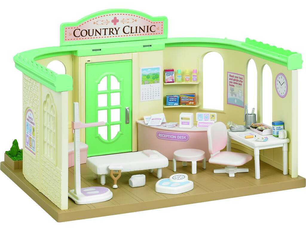 Sylvanian Families Clinica Country Epoch Para Imaginar 5096
