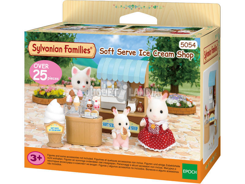 Famílias Sylvanian Época Ice Cream Shop To Imagine 5054