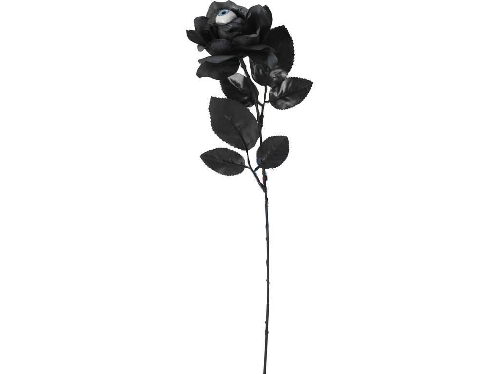 Rosa Preta e Prata com Olho 42 cm.