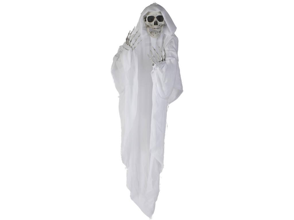 Esqueleto Fantasma com Luzes 75cm