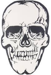 Tête de Mort Jour des Morts avec Lumières 48x32x2cm