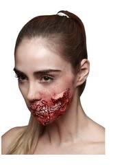Cicatriz Latex Boca Zombie