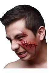 Cicatriz Latex Corte Cara