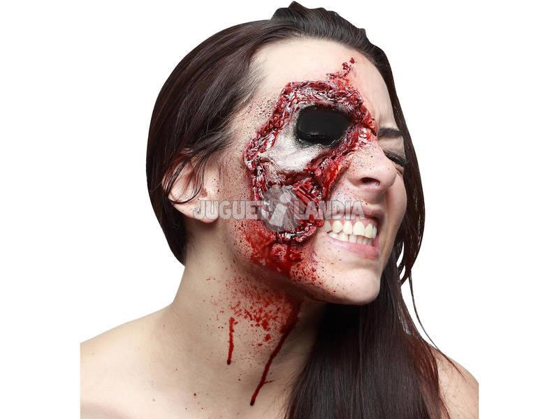 Cicatriz Látex Zombie Olho