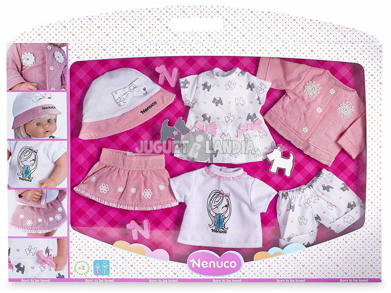 341b998b3 Nenuco Súper Set De Ropa Para Muñecos de 35 cm Famosa 700013740 ...
