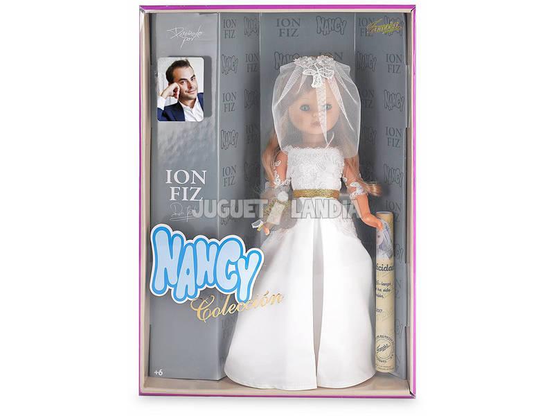 Nancy Boneca Coleção Noiva Ion Fiz 40 cm Famosa 700013524