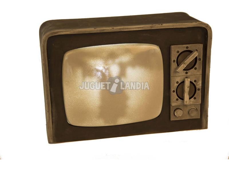 Televisor Terror Con Luz Y Sonido 31 cm